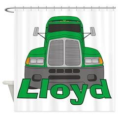 Trucker Lloyd Shower Curtain