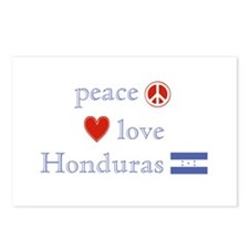 Peace, Love and Honduras Postcards (Package of 8)