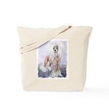 Crested Blue Bonnets Tote Bag