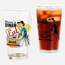 Moms Diner Retro 50's Drinking Glass
