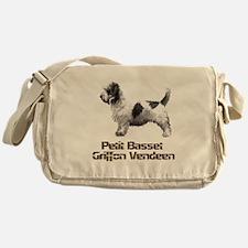 petit basset griffon vendeen Messenger Bag