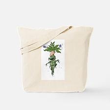 Screaming Mandrake Root Tote Bag