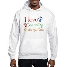 I Love Teaching Kindergarten Jumper Hoody