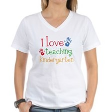I Love Teaching Kindergarten Shirt