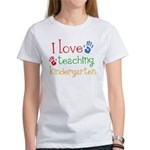 I Love Teaching Kindergarten Women's T-Shirt