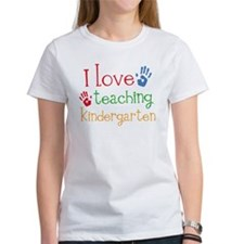 I Love Teaching Kindergarten Tee
