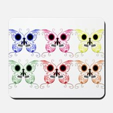 Sugar Skull Butterfly Display Mousepad