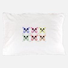 Sugar Skull Butterfly Display Pillow Case