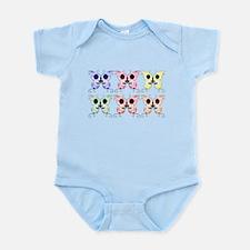 Sugar Skull Butterfly Display Infant Bodysuit