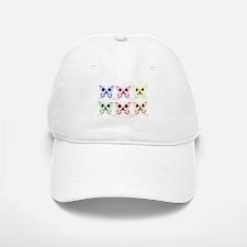 Sugar Skull Butterfly Display Baseball Baseball Cap