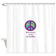 Peace on Earth! Shower Curtain