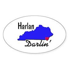 Harlan Darlin' Decal