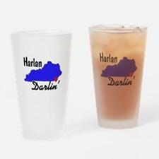 Harlan Darlin' Drinking Glass