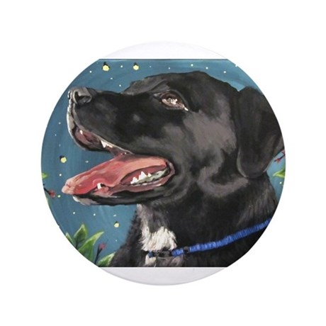 "Sassy and the Fireflies 3.5"" Button"