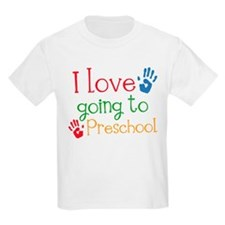 I Love Going To Preschool T-Shirt