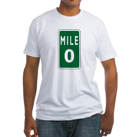 Mile 0 Fitted T-Shirt