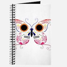 Multi Color Sugar Skull Butte Journal