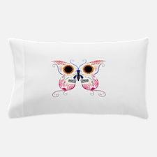 Multi Color Sugar Skull Butte Pillow Case