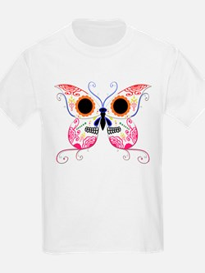 Multi Color Sugar Skull Butte T-Shirt