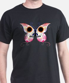 Multi Color Sugar Skull Butte T-Shirt