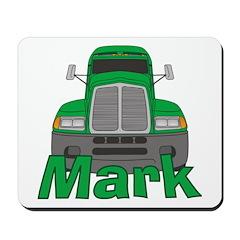 Trucker Mark Mousepad