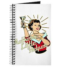 Mothers Little Helper Retro 50's Journal
