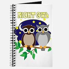 70's Night Owl Retro Journal