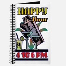 Art Deco Happy Hour Retro Journal