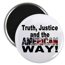 Truth, Justice and the American Way Magnet