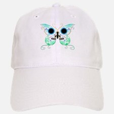 Green Multi Sugar Skull Butte Baseball Baseball Cap