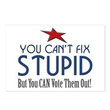You Can't Fix Stupid Postcards (Package of 8)