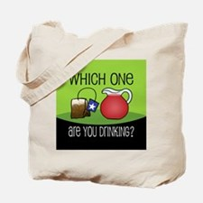 DRINKING TEA Tote Bag