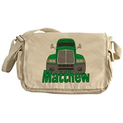 Trucker Matthew Messenger Bag