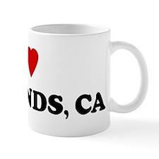 I Love Redlands Coffee Mug