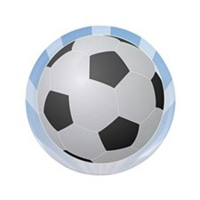 "Soccer 3.5"" Button"