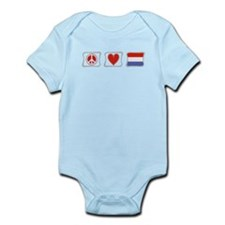 Peace, Love and Holland Infant Bodysuit