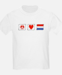Peace, Love and Holland T-Shirt