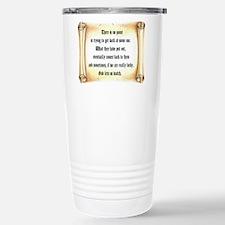 God Lets Us Watch Travel Mug