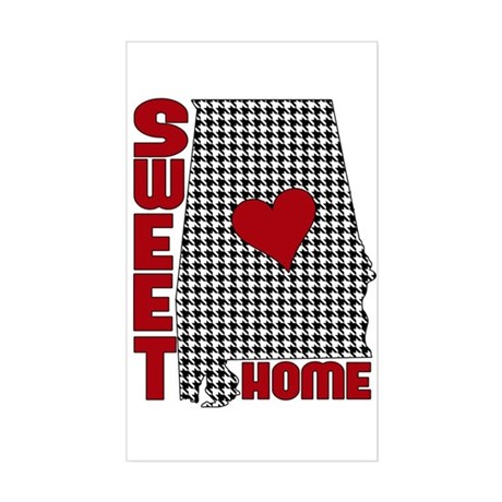 Sweet Home Bama Sticker (Rectangle)