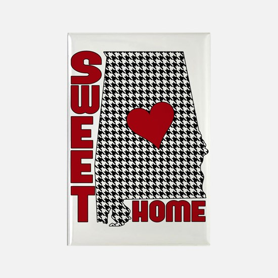 Sweet Home Bama Rectangle Magnet