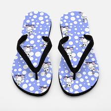 Funny Bunny Flip Flops
