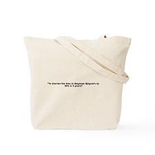 Unique Breakthrough Tote Bag