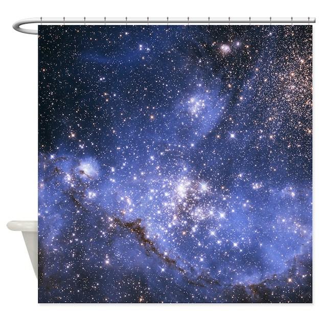 Magellan Nebula Shower Curtain By Showercurtainshop