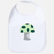 Green Mushroom Bib