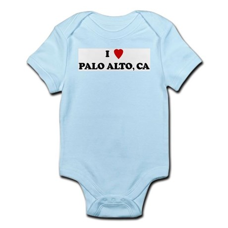 I Love Palo Alto Infant Creeper