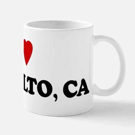 I Love Palo Alto Mug
