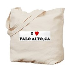 I Love Palo Alto Tote Bag