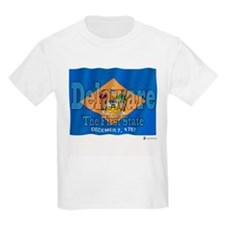 Delaware The First State Kids T-Shirt