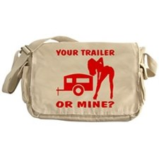 Your Trailer Or Mine? Messenger Bag