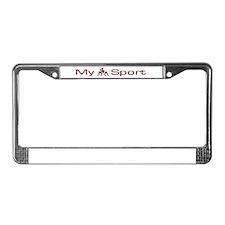 My Sport - Wrestling License Plate Frame